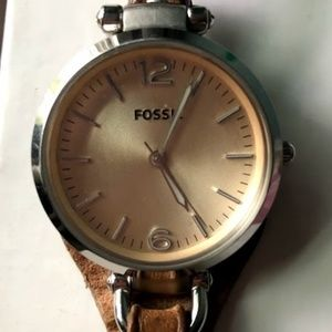Fossil Watch *Tiny Clock Face